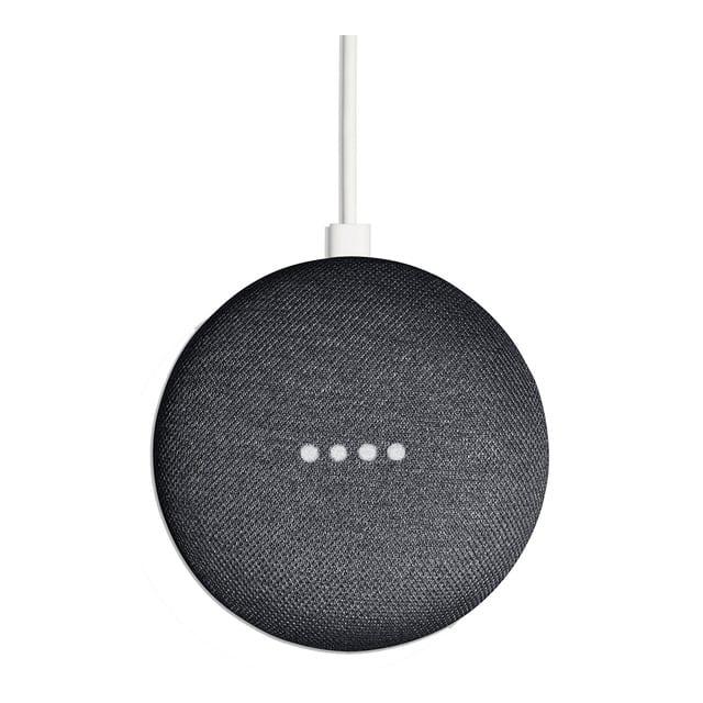 Altavoz inteligente Google Home Mini – Carbón