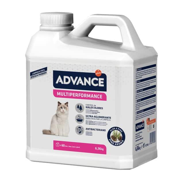 Arena aglomerante Advance Multiperformance para gatos 6.36Kg