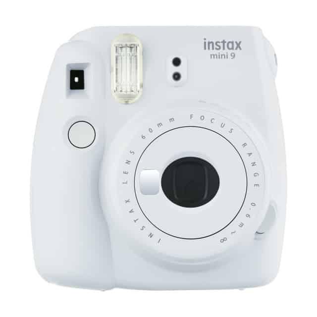 Cámara instantánea Fujifilm Instax Mini 9 – Color blanco