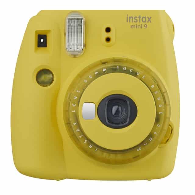 Cámara instantánea Fujifilm Instax Mini 9 Edición Limitada – Color amarillo
