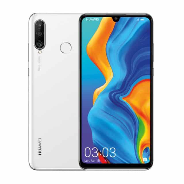 Huawei P30 Lite 128GB + 4GB – Blanco