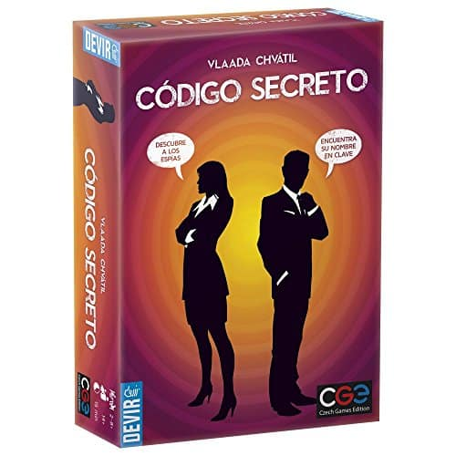 Juego de Mesa Código Secreto de Devir