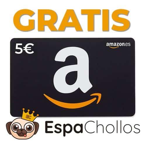 Consigue 5€ GRATIS en Amazon
