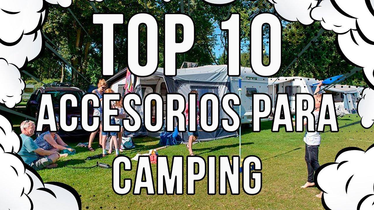 TOP 10 - Accesorios para camping