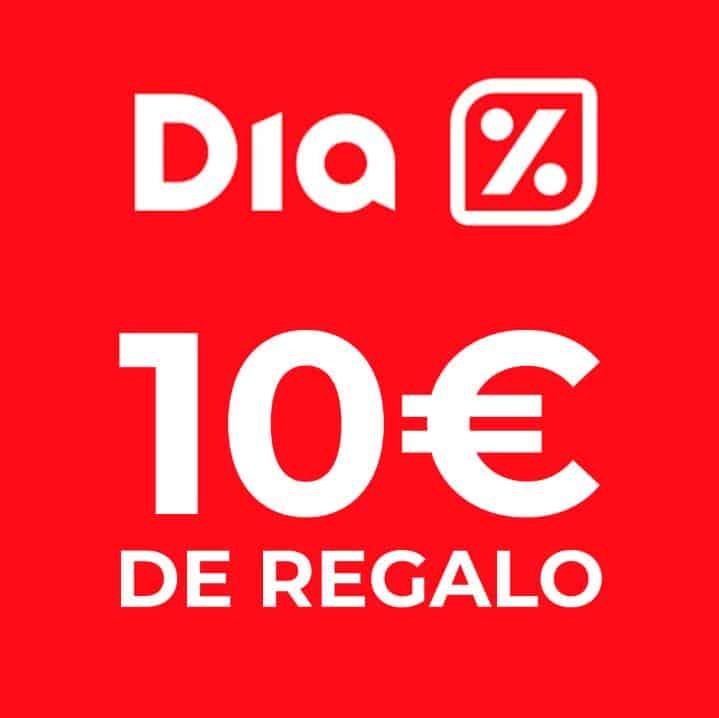 10€ de regalo en tu primera compra en Dia.es