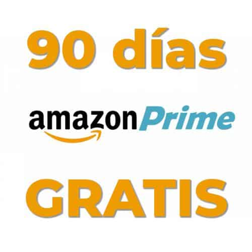Disfruta de 90 días GRATIS en Amazon Prime