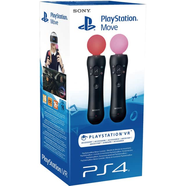 Pack de 2 mandos Playstation Move / VR – PS4