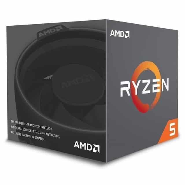 Procesador AMD Ryzen 3.6 GHz AMD Ryzen 5