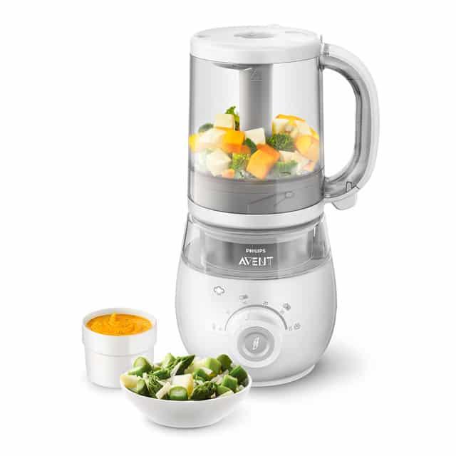 Robot de Cocina Philips Avent SCF885-01 – Color blanco