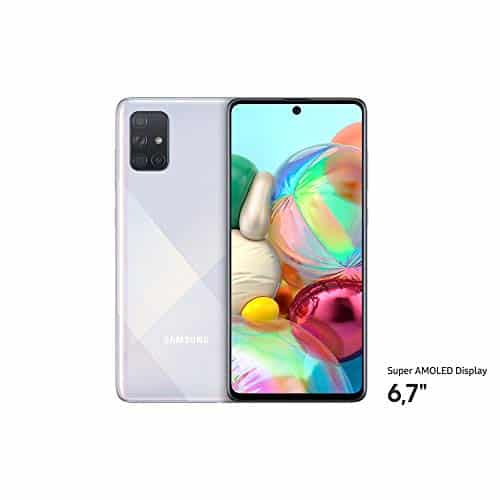 Samsung Galaxy A71 – Plata
