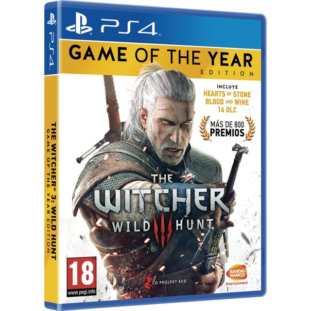 The Witcher 3 Wild Hunt – Game of The Year Edition – PS4