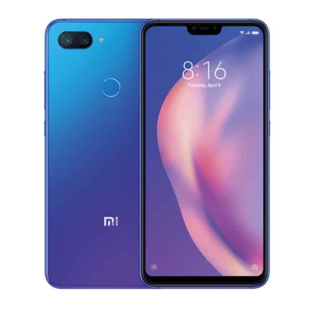 Xiaomi Mi 8 Lite 6 GB +128 GB – Color azul