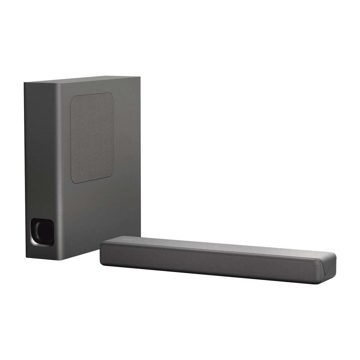 Barra de Sonido Sony HT-MT300 2.1 Bluetooth y Subwoofer inalámbrico