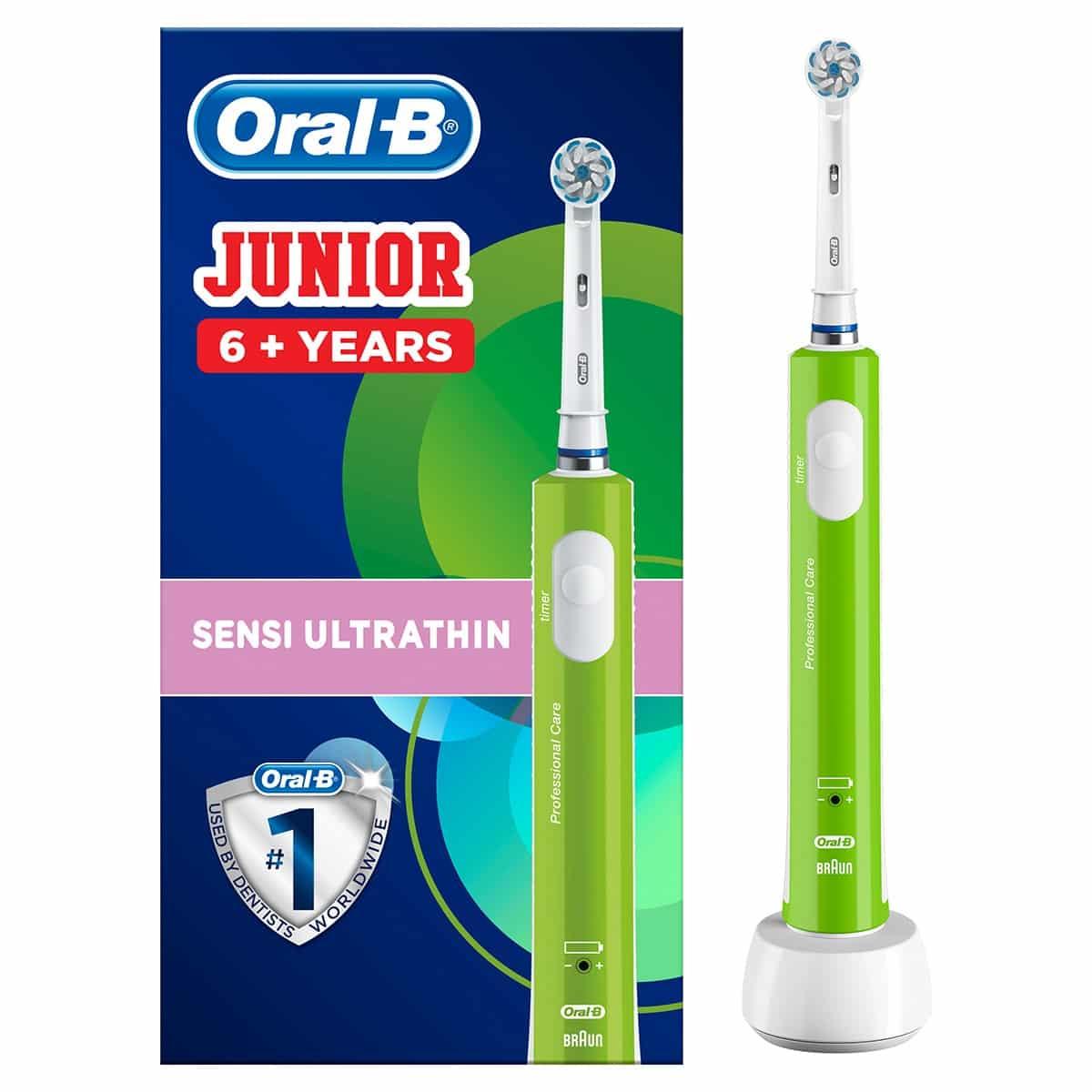 Cepillo de dientes eléctrico Braun Oral-B Junior para niños