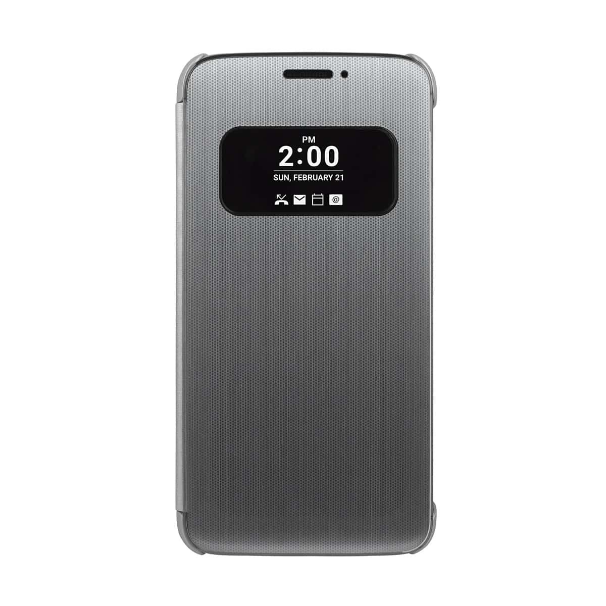 Funda inteligente LG para G5 Plata