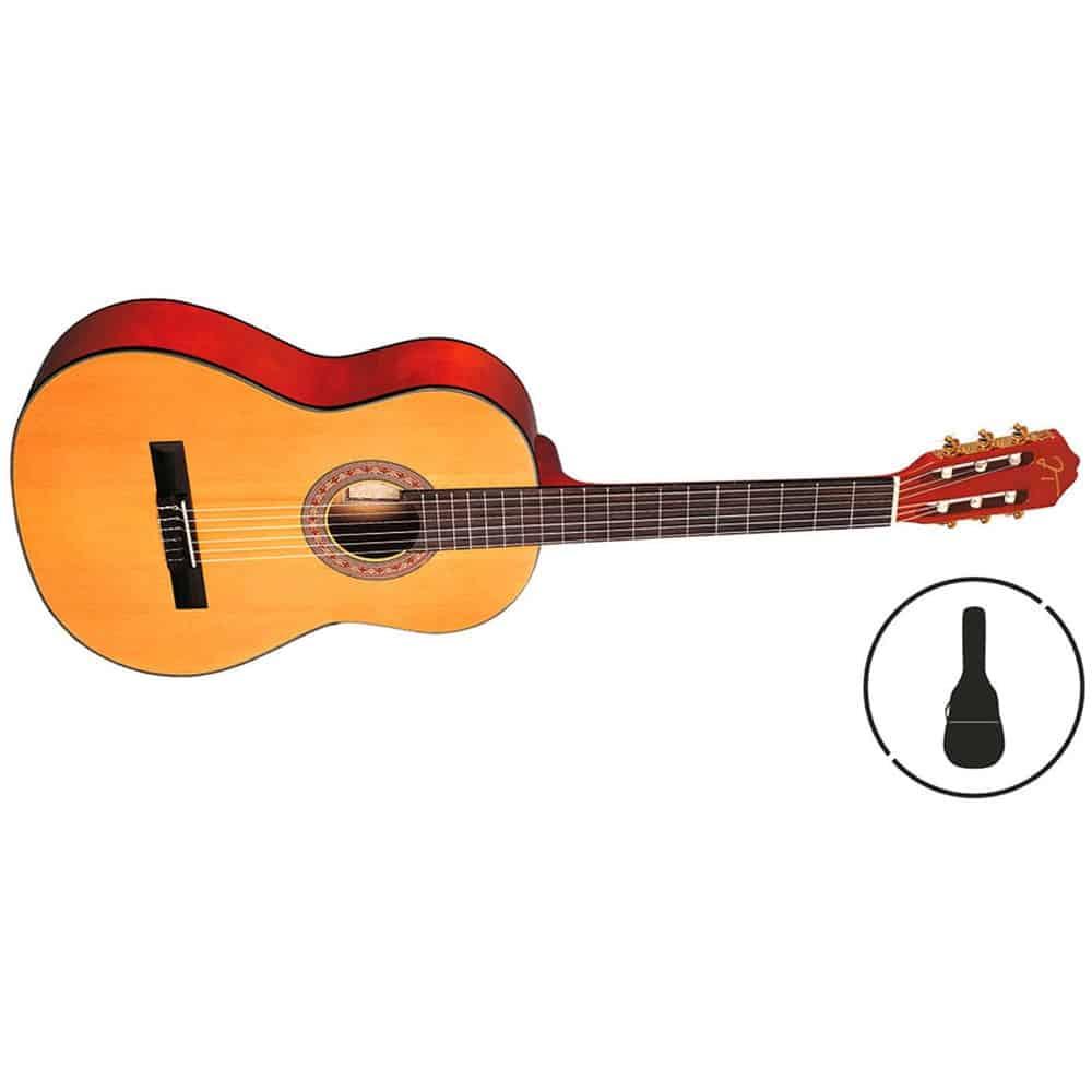 Guitarra clásica 3/4 Oqan Qgc-10 Cadet