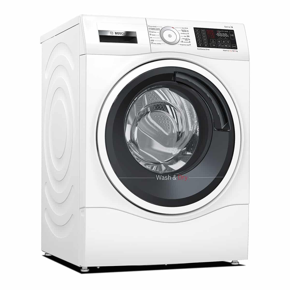 Lavadora secadora Bosch WDU8H541ES Home Connect de 10 Kg y 1.400 rpm