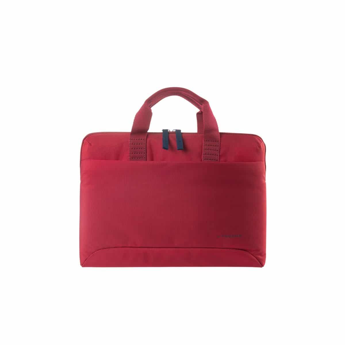 Maletín rojo Tucano Smilza para portátiles hasta 39,62 cm (15,6″) y Mac Book 15″ y 16″