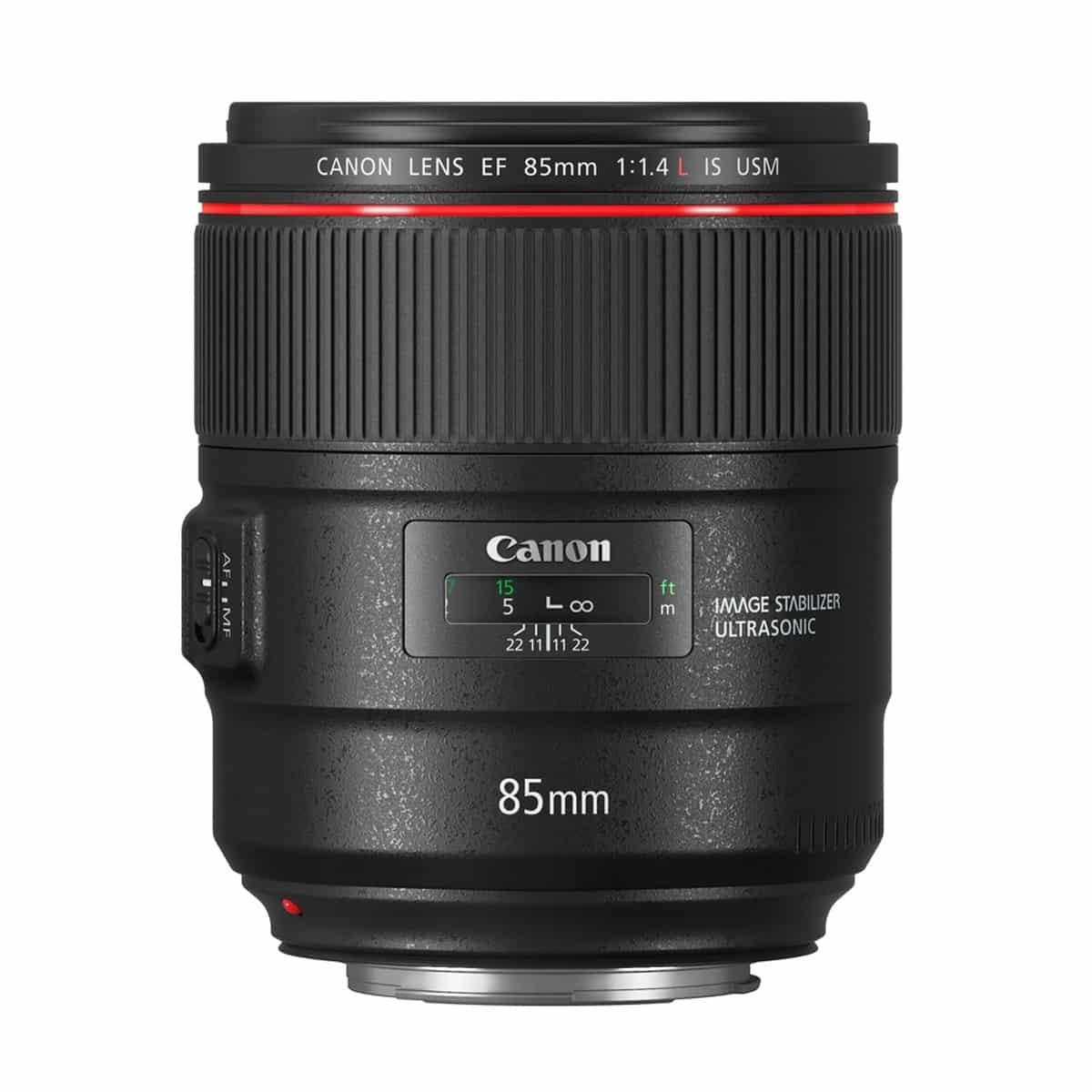Objetivo Canon EF 85MM F/1.4L IS USM