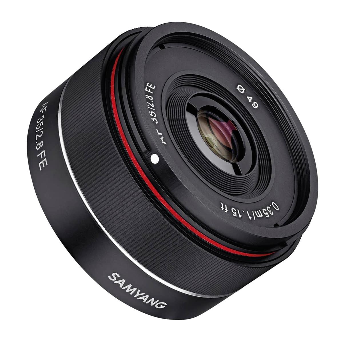 Objetivo Samyang AF 35mm f/2,8 para Sony E