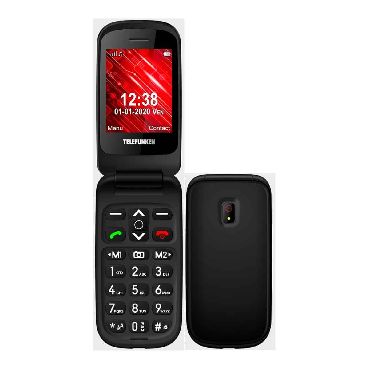 Telefunken Senior Phone S440 32 MB + 32 MB negro móvil libre